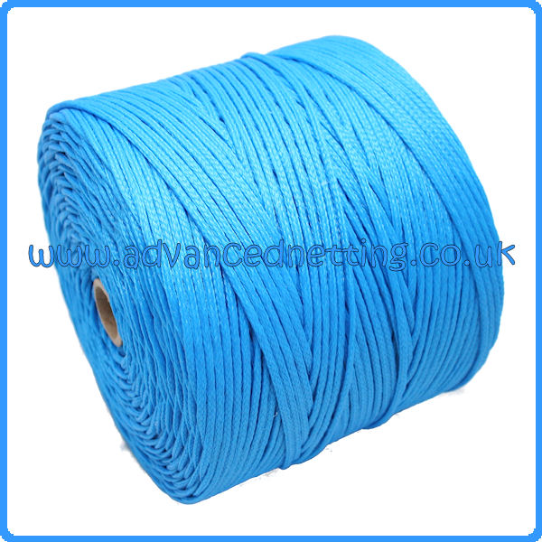 4mm Blue Braided P.E Twine (2 kilo spool)