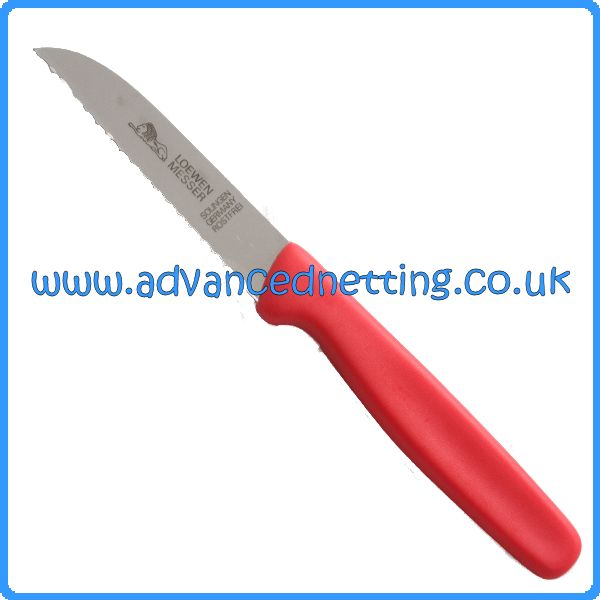 Loewen Messer Serrated Edge Gutting Knife