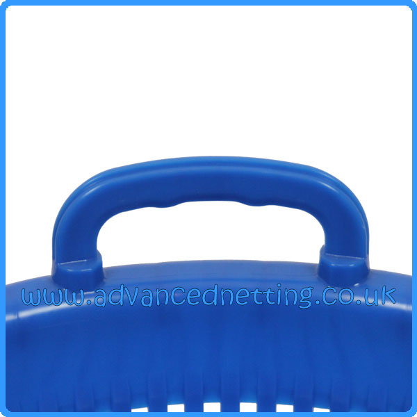 Blue Plastic Fish Basket with Moulded Handles