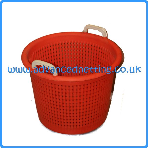 Orange Plastic Fish Basket
