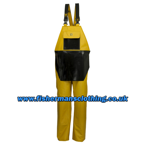 Heavy Duty Bib & Braces with Apron - Size 04) X Large