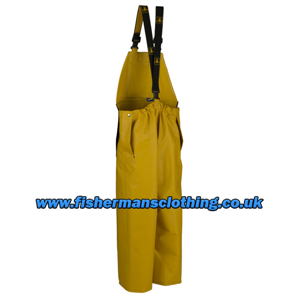 Heavy Duty Bib & Braces with Apron - Size 02) Medium