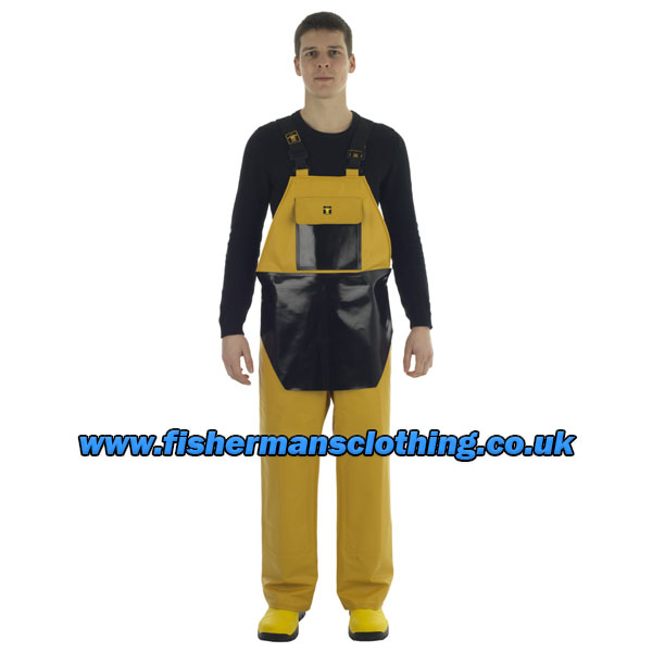 Heavy Duty Bib & Braces with Apron - Size 03) Large