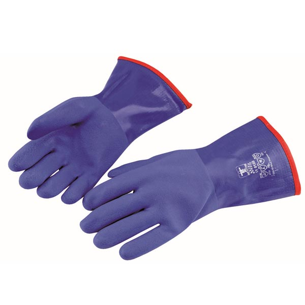 Guy Cotten Blue Thermo Gloves - Size: 10 - X Large