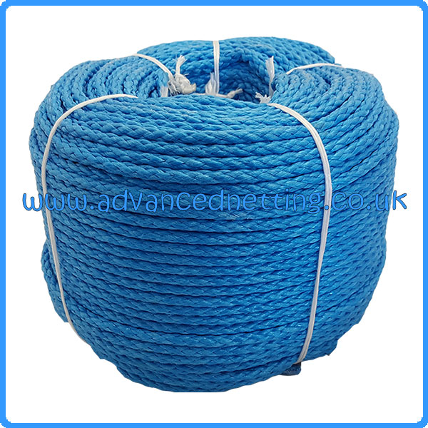 8mm Braided Polypropelene Rope 200m Coil