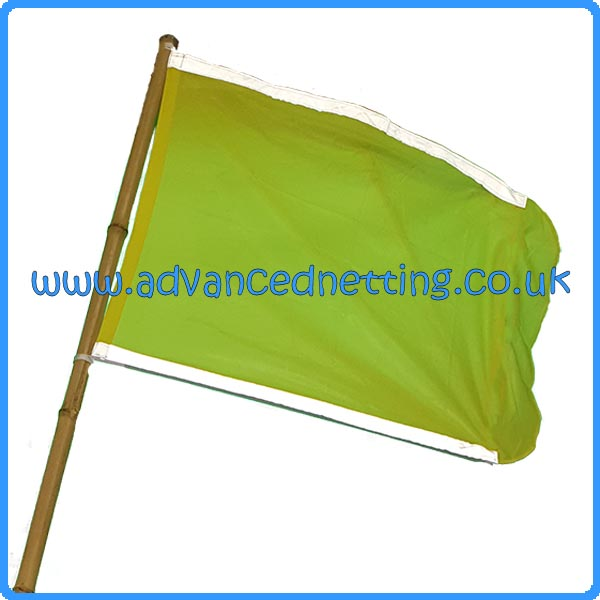 Large Yellow Dhan Flag with Reflective Strips