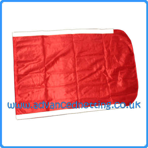 Large Red Dhan Flag with Reflective Strips