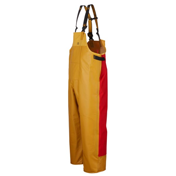 Guy Cotten Drembib - Colour: Yellow/Red - Size 03) Large