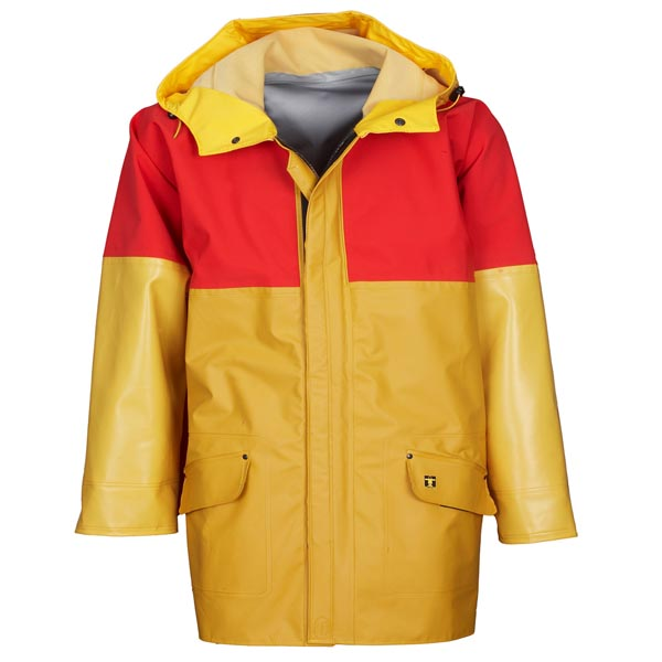 Drempro Jacket - Size 02) Medium Colour:Yellow/Red