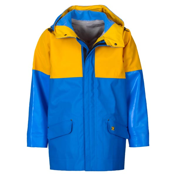 Drempro Jacket - Size 02) Medium Colour:Yellow/Blue