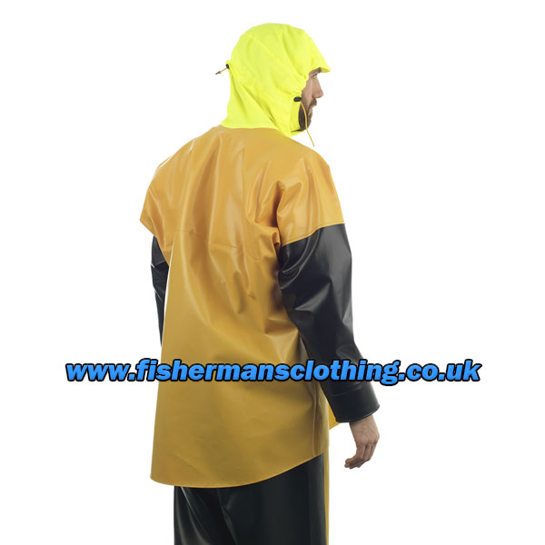 Guy Cotten Isomax Jacket - Yellow/Black - Size: Large