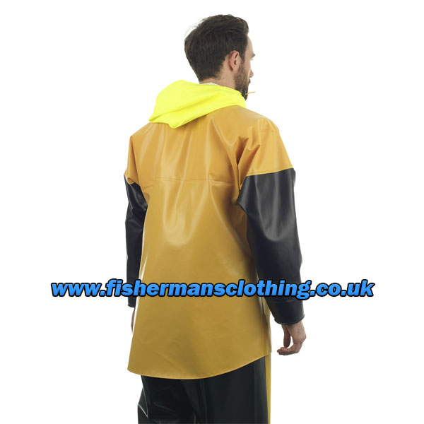 Guy Cotten Isomax Jacket - Yellow/Black - Size: Small
