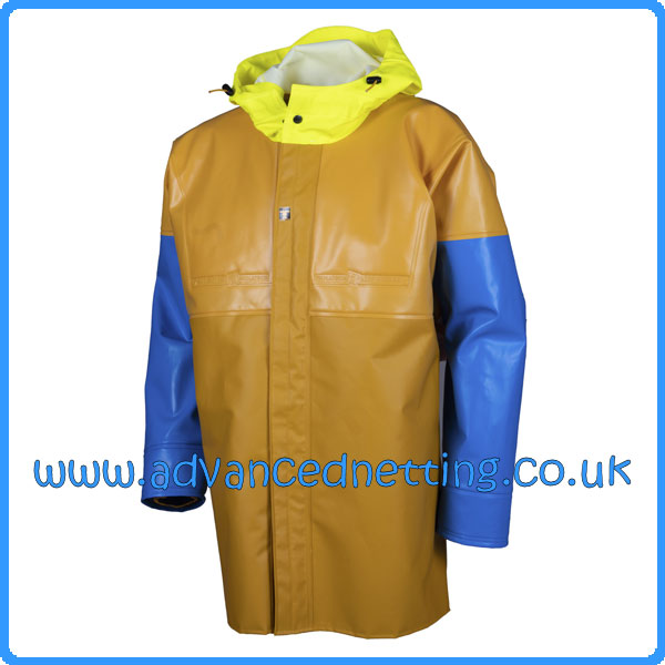 Guy Cotten Isomax Jacket - Yellow/Blue- Size: Small