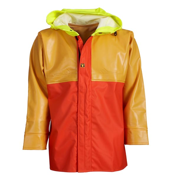 Isopro Jacket - Colour: Yellow/Orange - Size 03) Large