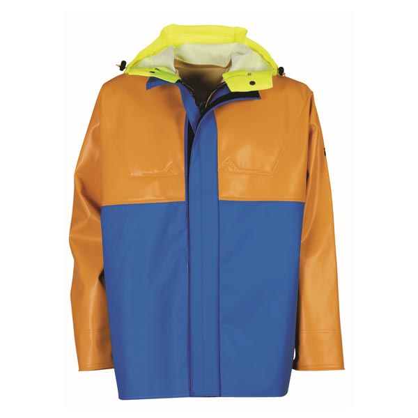 Isopro Jacket - Colour: Yellow/Blue - Size 03) Large