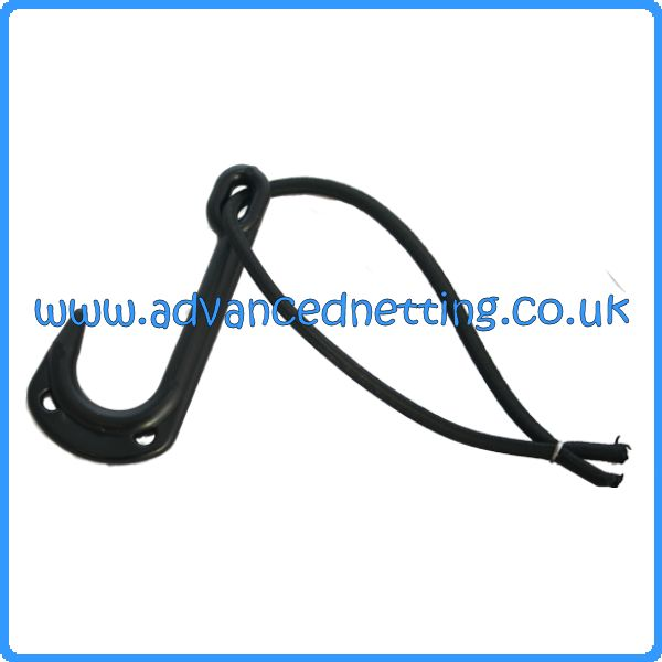 Large Black Pot/Creel Hook (10 pack)