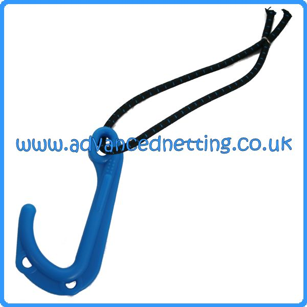 Large Blue Pot/Creel Hook with Extra Grip (10 pack)