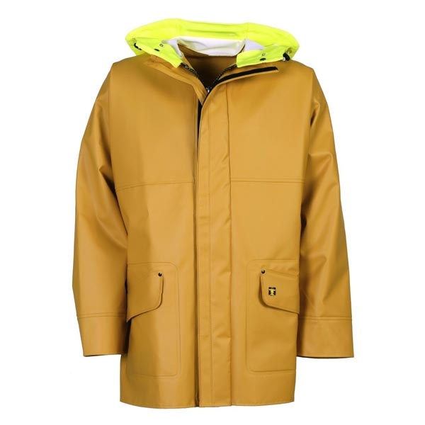 Rosbras Jacket (Nylpeche) - Colour: Yellow - Size 01) Small
