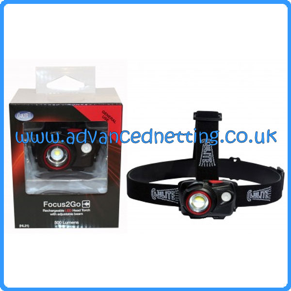 Focus2Go Rechargeable Headlight