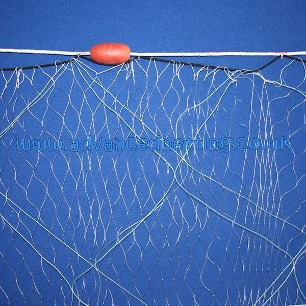 0.50 x 220mm (8.5 inch) Trammel rigged to fish 100yds x 4 ft