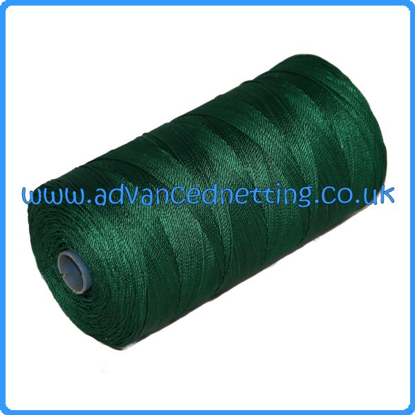 210/18 (6z) Green Twisted Nylon (500g Spools)