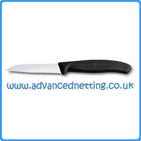 Victorinox Stainless Steel Wavey Edge General Purpose/ Gutting Knife