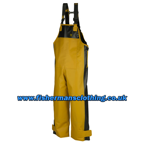 X Trapper Bib & Brace Trousers - Colour: Yellow/Black - Size: Medium