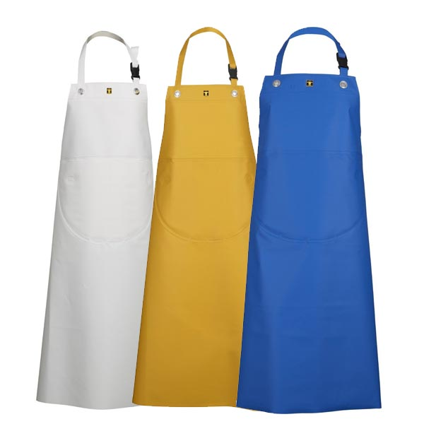 Guy Cotten Isofranc Apron - Colour: Yellow - Size: Small
