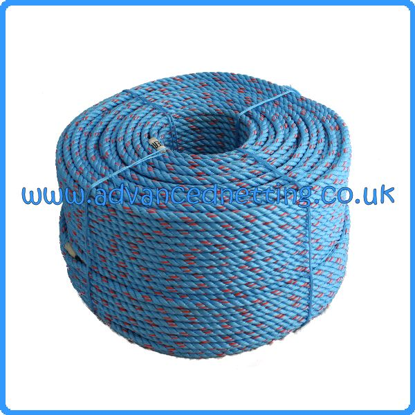 8mm Leaded Polysteel Rope 220m Coil