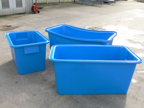 Large Blue Leach & Turner Net Bin