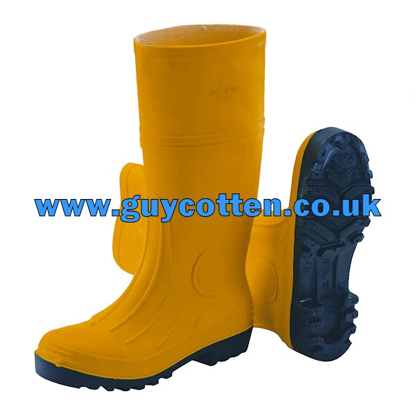 GC Admin Safety Boots - Yellow - 41 (UK 7)