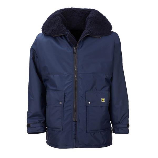 Guy Cotten Nav Jacket - Colour: Navy - Size: 02) Medium